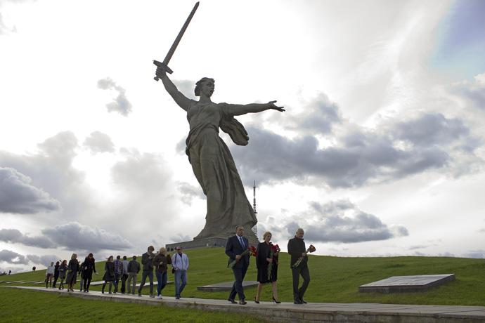 Премьерный показ фильма «Сталинград» Федора Бондарчука прошел в Волгограде