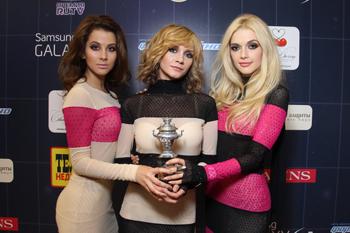 Победители IV Русской Музыкальной Премии телеканала RU.TV