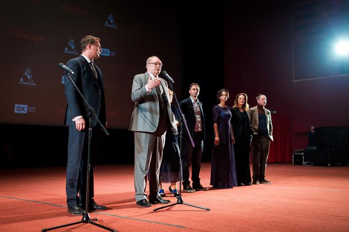 В Москве в кинотеатре «Октябрь» состоялась премьера нового художественного фильма Владимира Бортко «Душа шпиона»